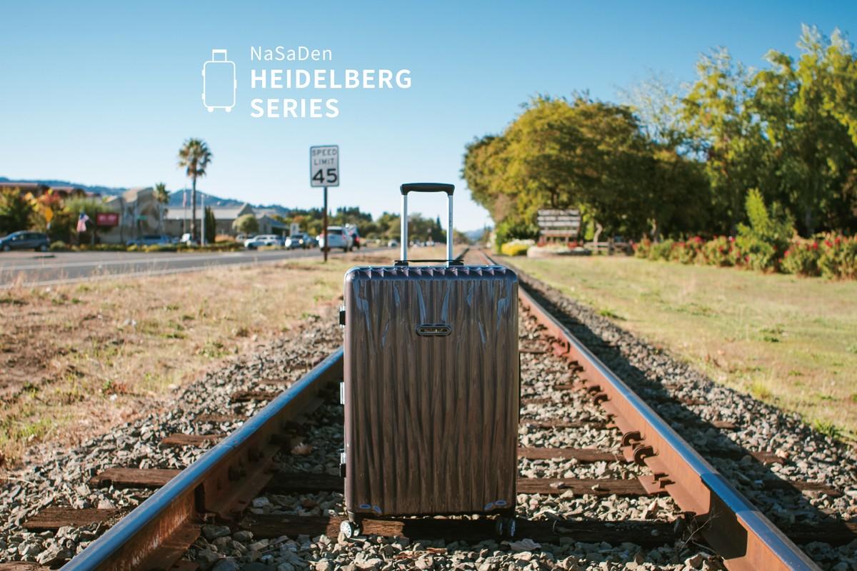 德國NaSaDen海德堡系列28吋超輕量鋁框行李箱